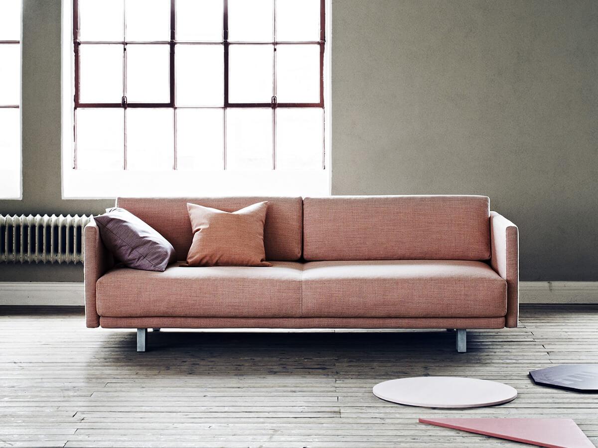 Softline Meghan Sofa Bed in Kvadrat Fabric