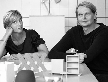 Mattias Ståhlbom from Stockholm-based design studio TAF Architects.