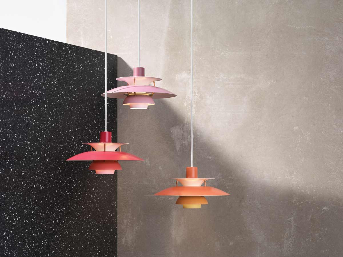 Louis Poulsen PH5 Mini Pendant Lights