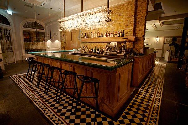 Bar at Yashin Ocean House, Kensington