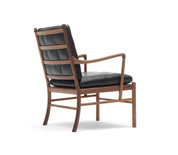 Carl Hansen OW149 Colonial Chair Lacquered Walnut