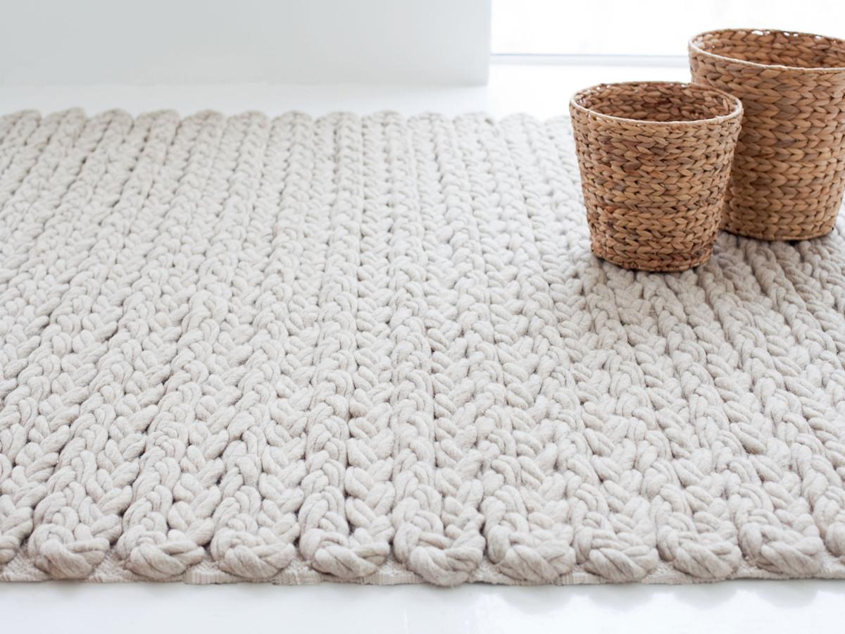 buy the gan trenzas rug ivory at. Black Bedroom Furniture Sets. Home Design Ideas