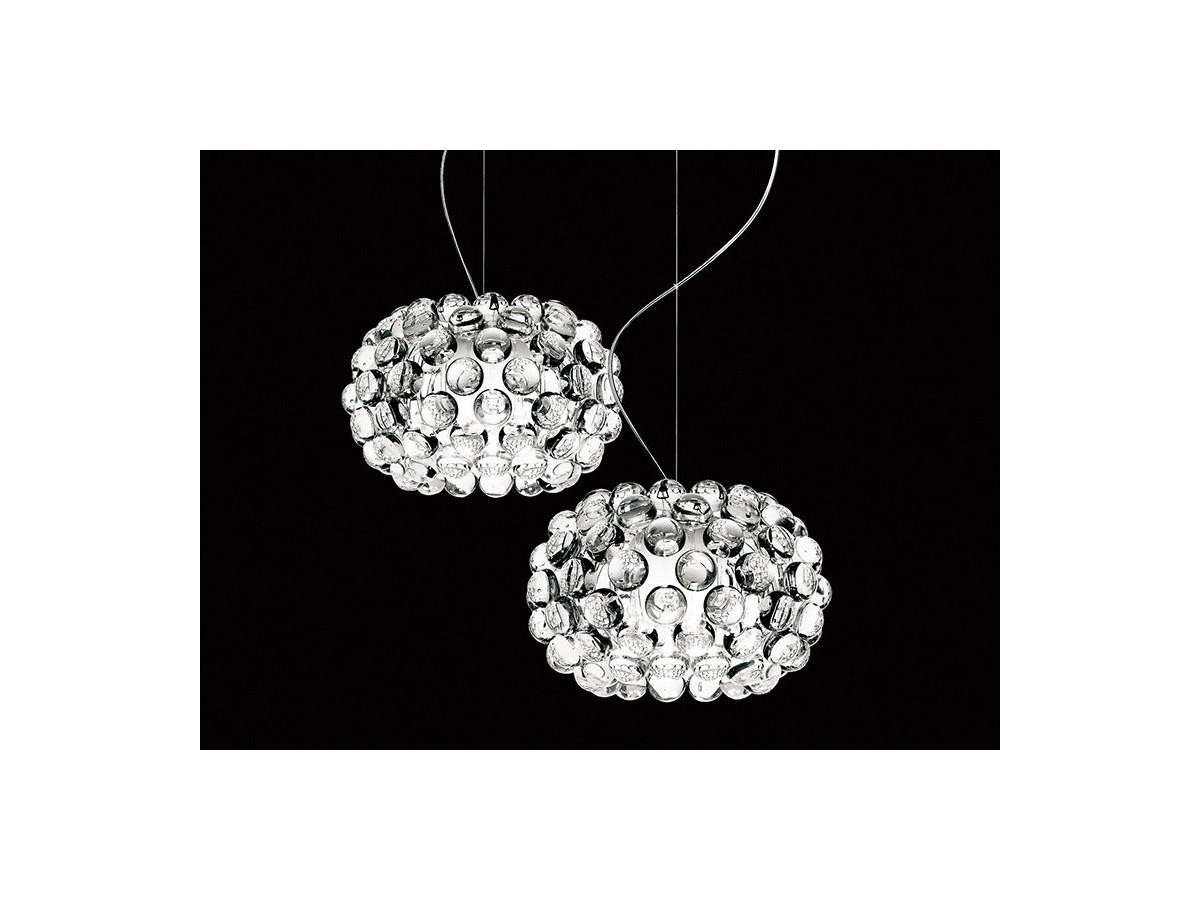 Buy the Foscarini Caboche Suspension Light Transparent at Nest.co.uk