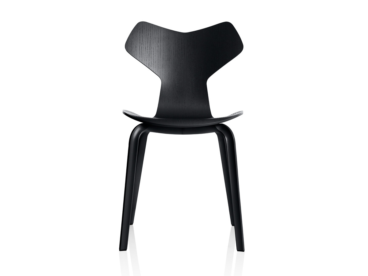 buy the fritz hansen grand prix chair wooden legs at nest. Black Bedroom Furniture Sets. Home Design Ideas