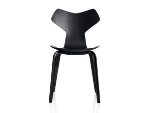 View Fritz Hansen Grand Prix Chair Wooden Legs