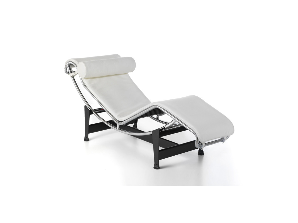 Buy the cassina lc4 chaise longue at for Chaise longue le corbusier cad