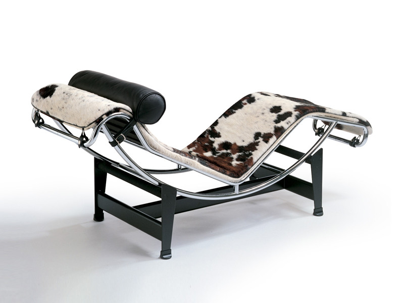 Buy the Cassina LC4 Chaise Longue at Nest.co.uk