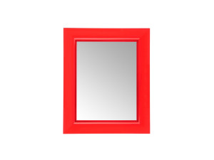 View Kartell Francois Ghost Mirror Red