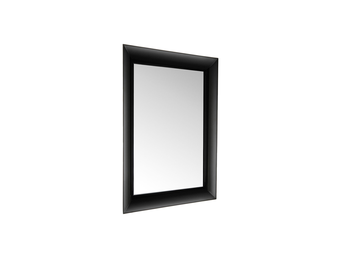 buy the kartell francois ghost mirror black at nestcouk -  kartell francois ghost mirror black