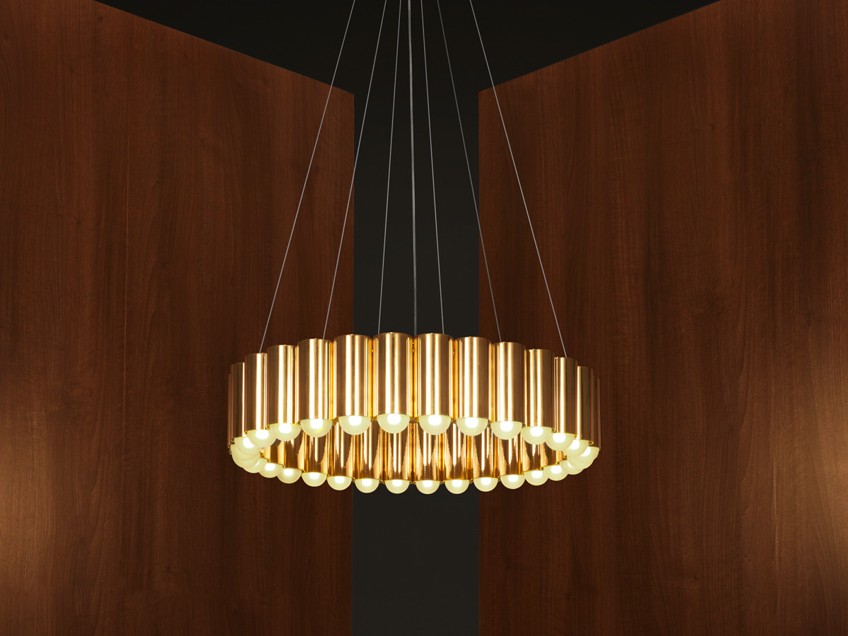 Buy the Lee Broom Carousel Brass Pendant Light at Nest.co.uk