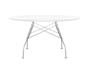 Kartell Glossy Round Dining Table
