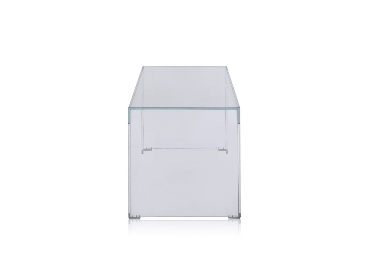 Buy The Kartell Invisible Side Table Crystal At Nest Co Uk