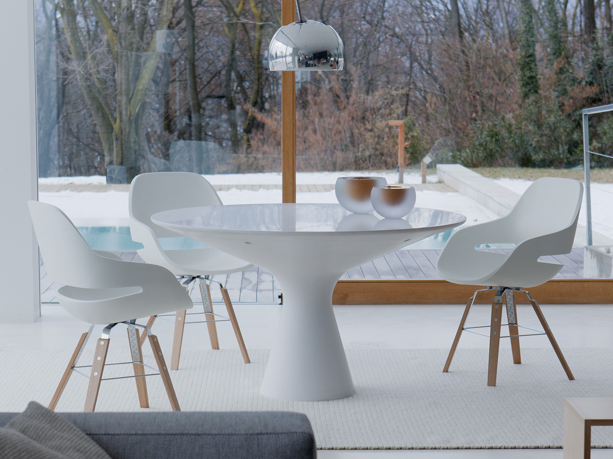 Buy the zanotta 2577 blanco table at for Table zanotta