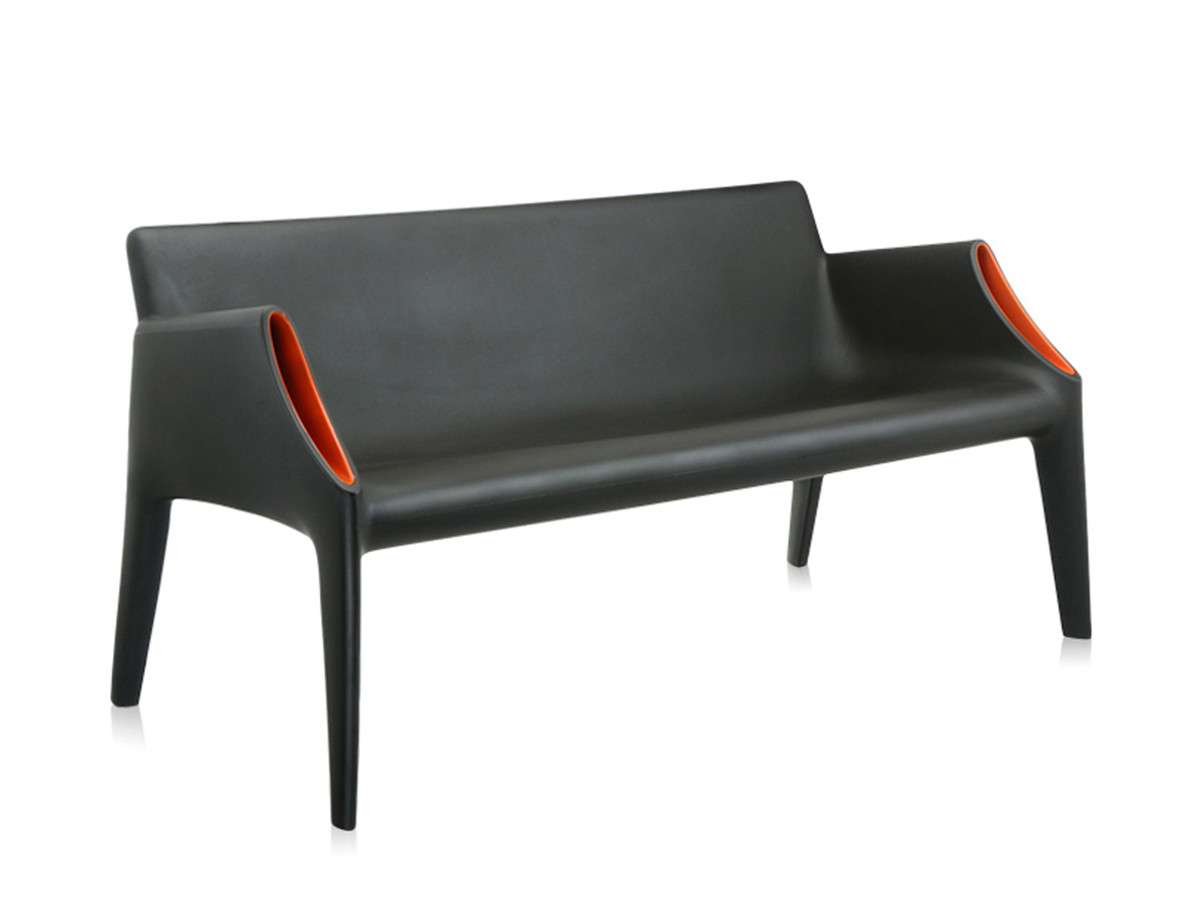 Buy the Kartell Magic Hole Sofa Black at Nest.co.uk