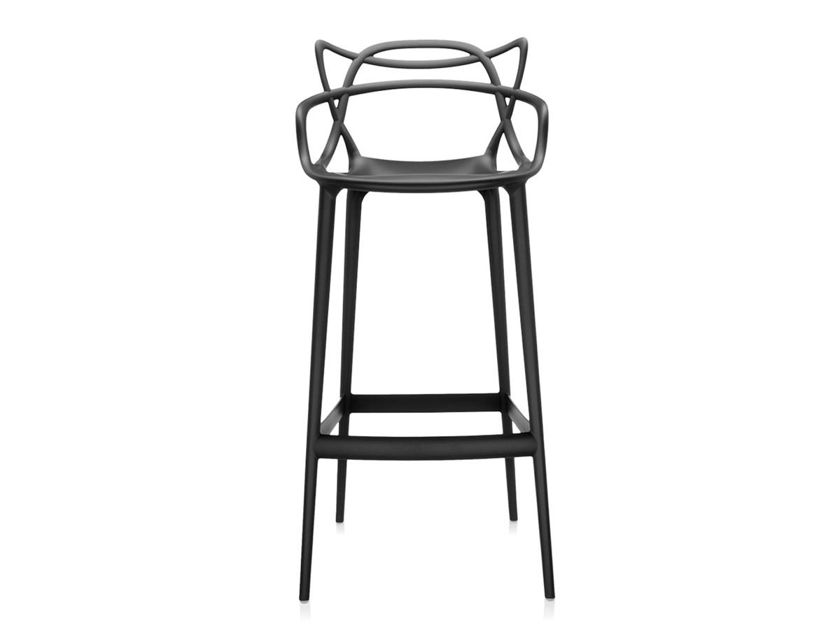 buy the kartell masters bar stool black at. Black Bedroom Furniture Sets. Home Design Ideas