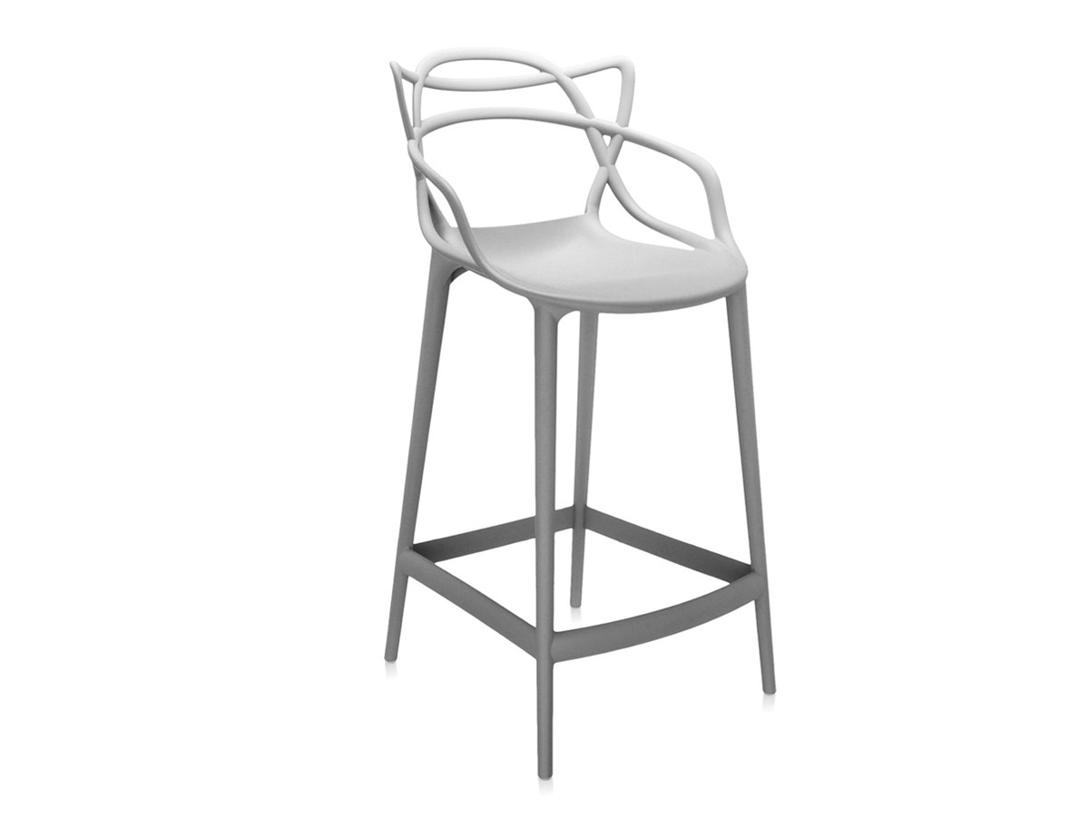 Buy the kartell masters bar stool grey at nest
