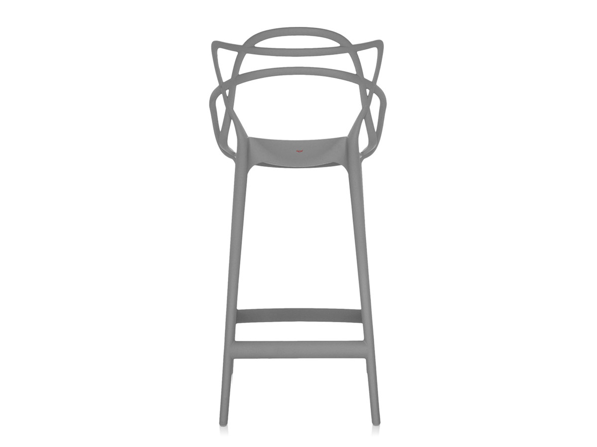 buy the kartell masters bar stool grey at. Black Bedroom Furniture Sets. Home Design Ideas