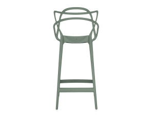 Buy The Kartell Masters Bar Stool Sage Green At Nest Co Uk