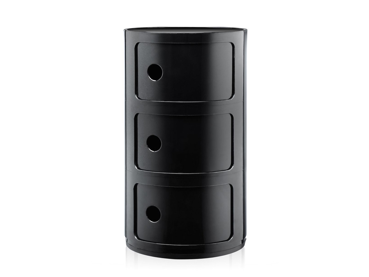 buy the kartell componibili round storage at. Black Bedroom Furniture Sets. Home Design Ideas