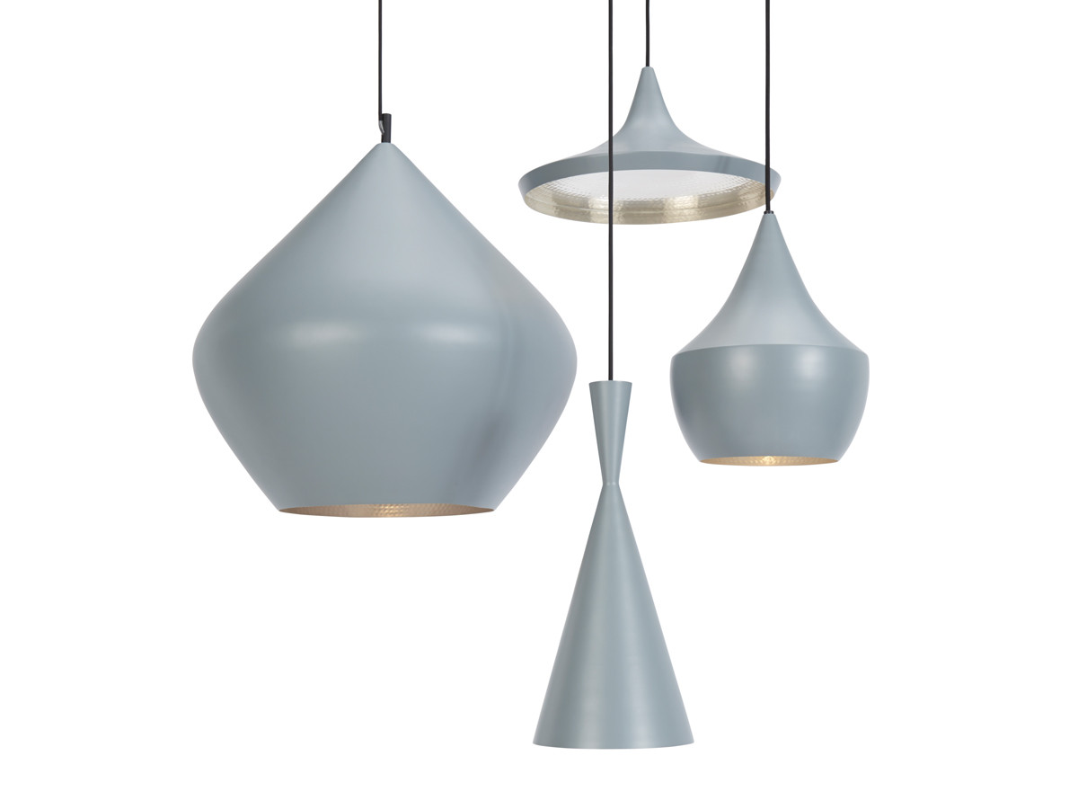 buy the tom dixon beat light wide grey at. Black Bedroom Furniture Sets. Home Design Ideas