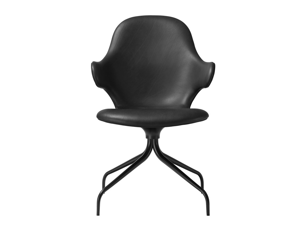 ... U0026Tradition Catch Chair JH2 With Swivel Base ...