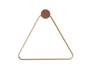 View Ferm Living Brass Toilet Paper Holder