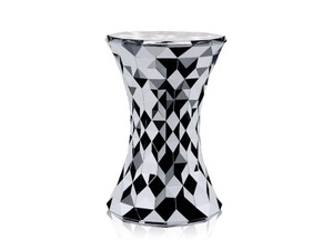 View Kartell Stone Stool Chrome