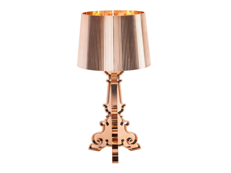 Buy The Kartell Bourgie Table Lamp Copper At Nestcouk