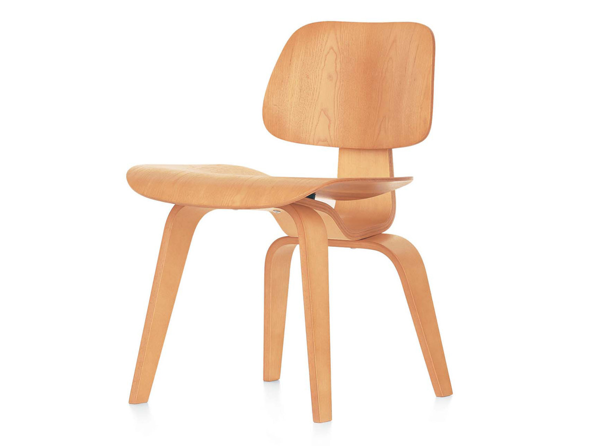 Buy the vitra dcw eames plywood chair at for Eames chair vitra replica