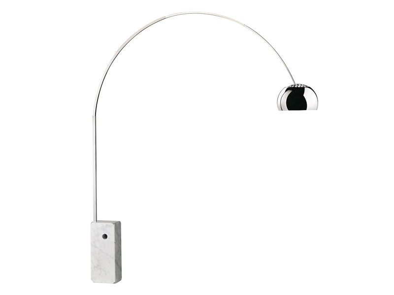 buy the flos arco floor lamp at. Black Bedroom Furniture Sets. Home Design Ideas