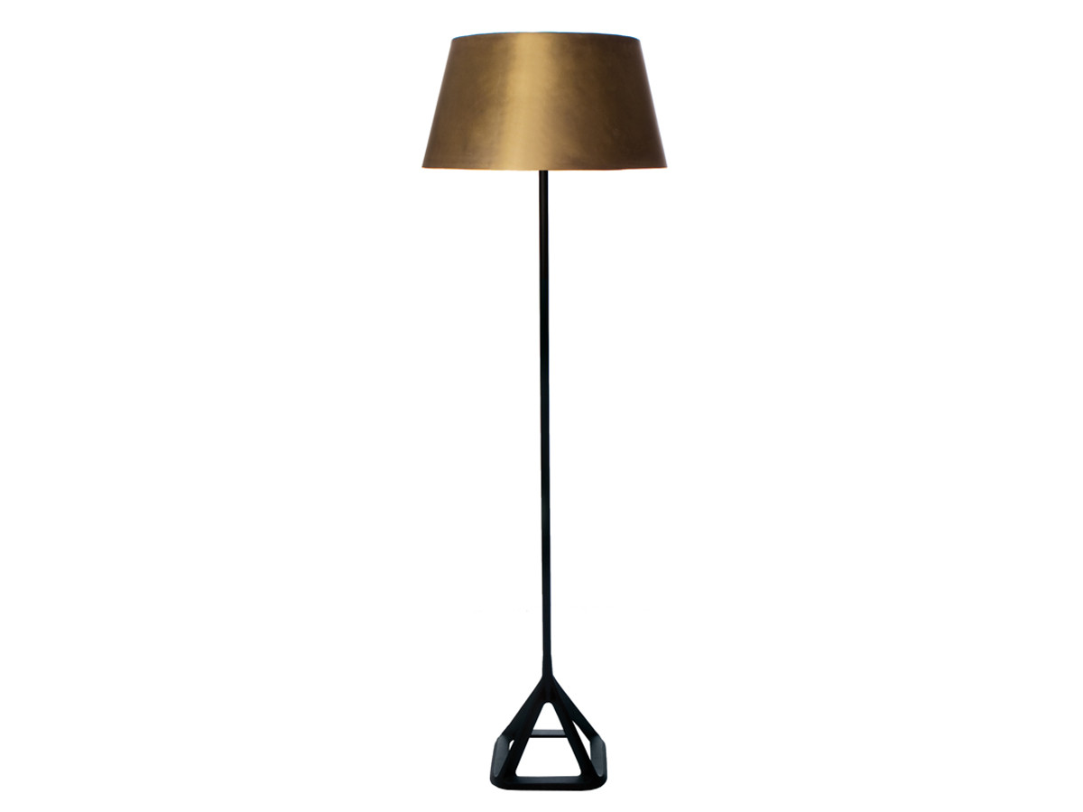 contemporary floor lamps  floor lighting at nestcouk - view tom dixon base floor lamp