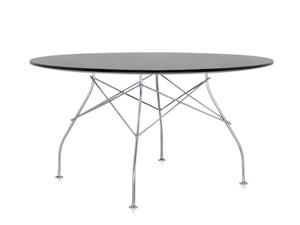 View Kartell Glossy Round Dining Table