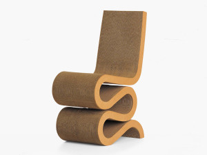 View Vitra Wiggle Side Chair