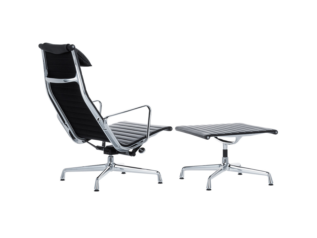 Buy the vitra eames ea 124 aluminium chair at for Eames alu chair nachbau