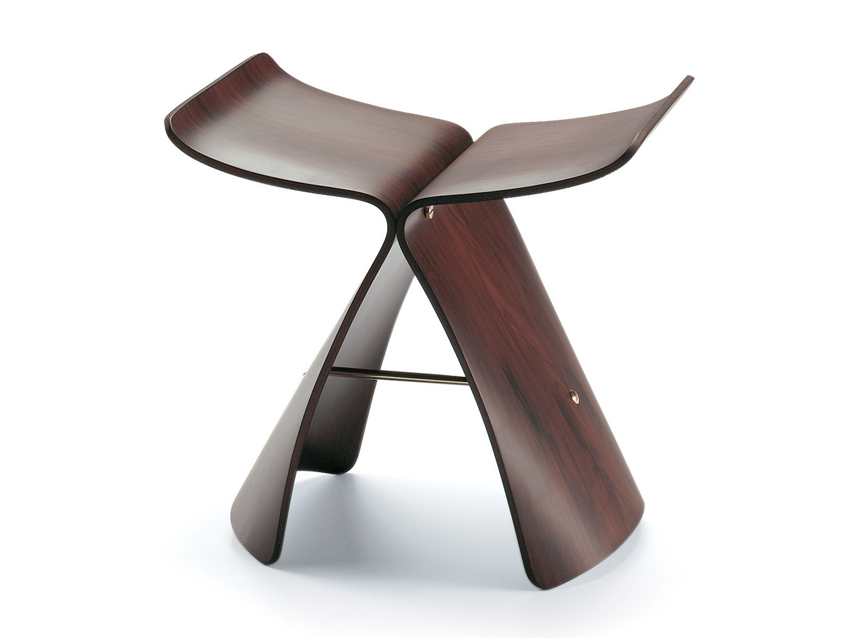 buy the vitra butterfly stool at. Black Bedroom Furniture Sets. Home Design Ideas