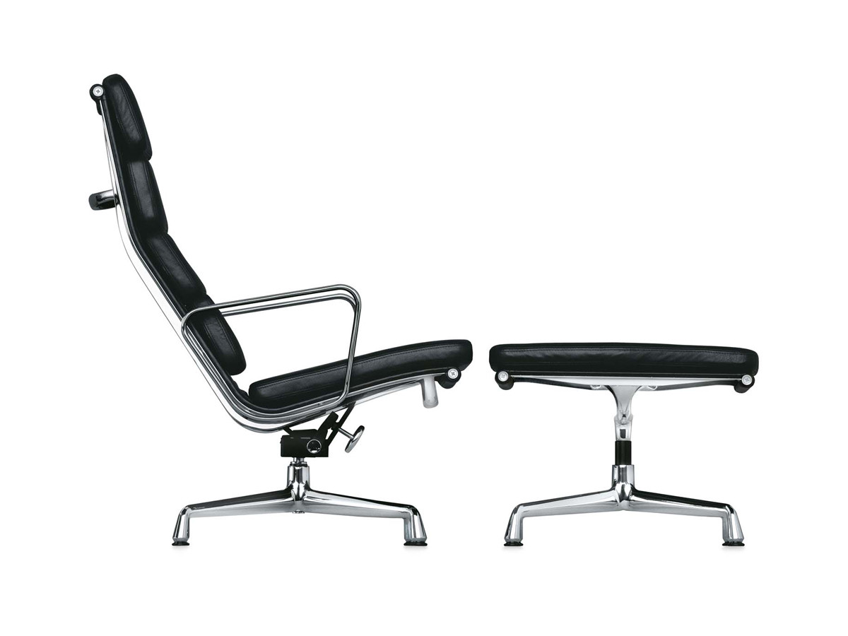buy the vitra eames ea 222 soft pad chair at. Black Bedroom Furniture Sets. Home Design Ideas