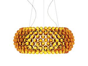 View Foscarini Caboche Suspension Light Gold