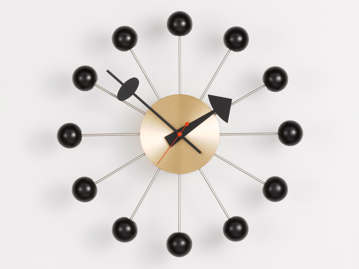 Buy the vitra ball wall clock at nest 123456 amipublicfo Images