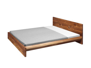 View E15 SL02 Mo Bed Walnut
