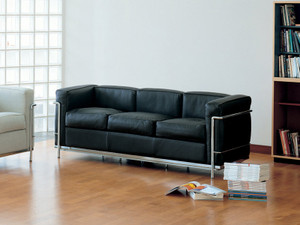 View Cassina LC2 Three Seater Sofa