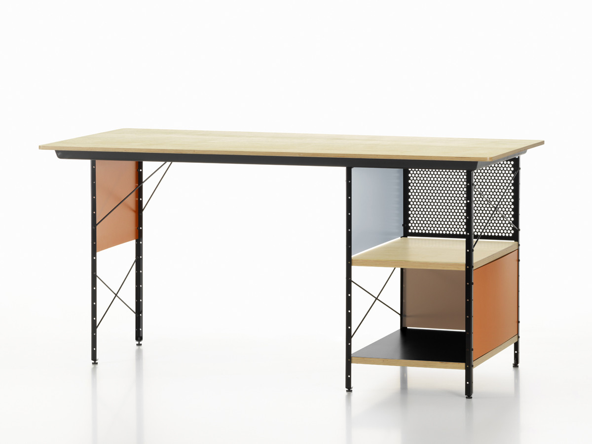 Buy the vitra eames desk unit edu at for Chaise eames dkr