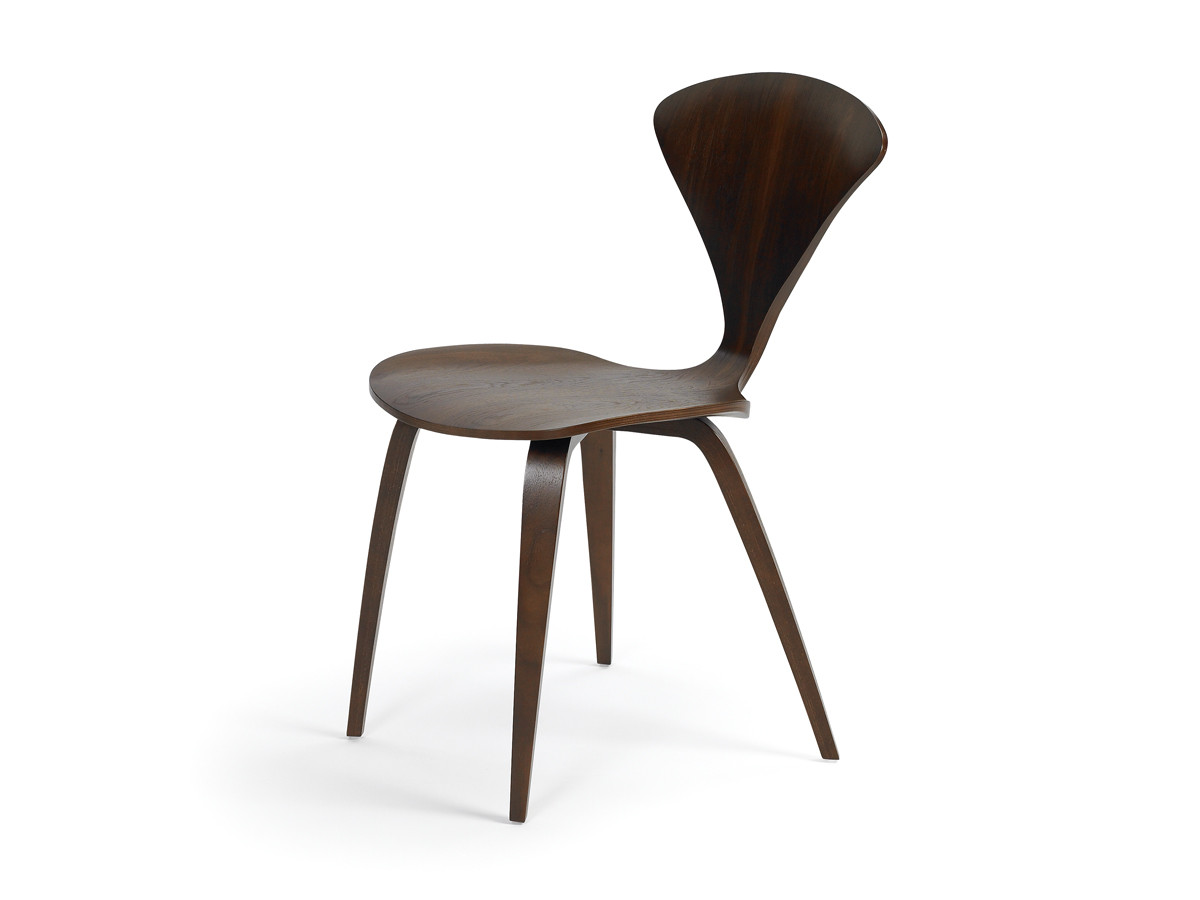 Cherner Bar Stool With Wooden Base £798. Cherner Side Chair