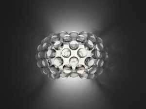 View Foscarini Caboche Wall Light Transparent