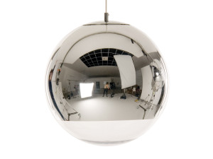 View Tom Dixon Mirror Ball Pendant Light