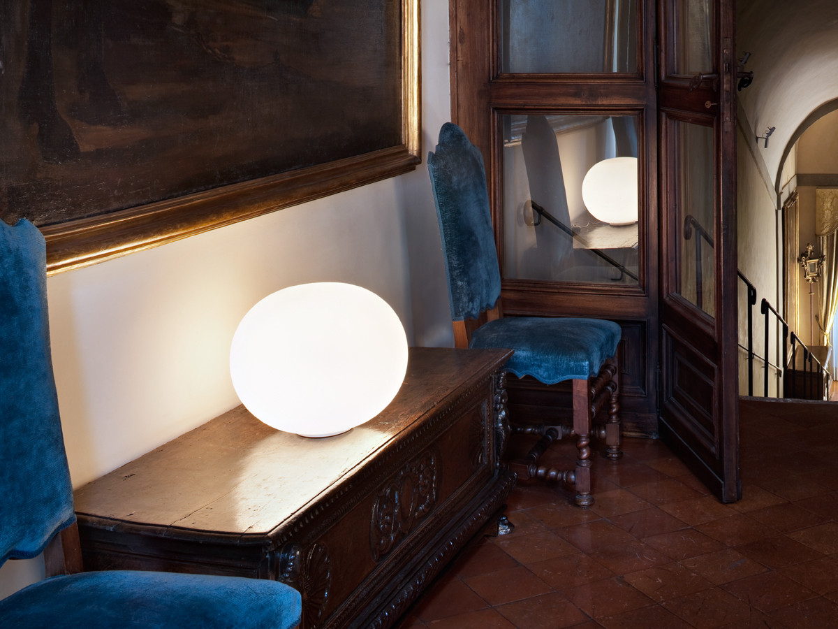 Buy the Flos Glo-Ball Basic Table Lamp at Nest.co.uk