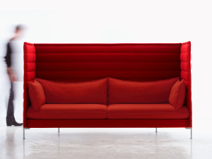 View Ex-Display Vitra Alcove Highback Three-Seater Sofa
