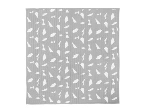 View Ferm Living Cut Bed Cover Grey