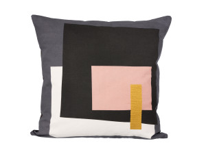 View Ferm Living Fragment Cushion Grey