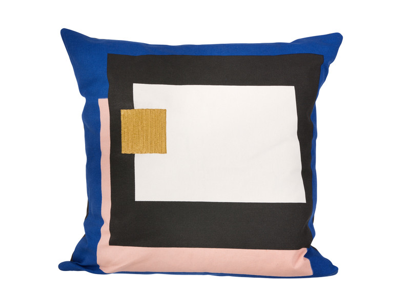 Ferm Living Fragment Cushion Blue