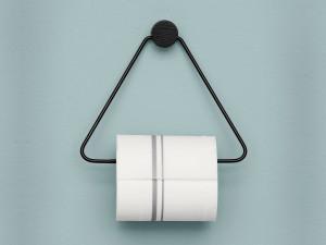 Ferm Living Toilet Paper Holder Black